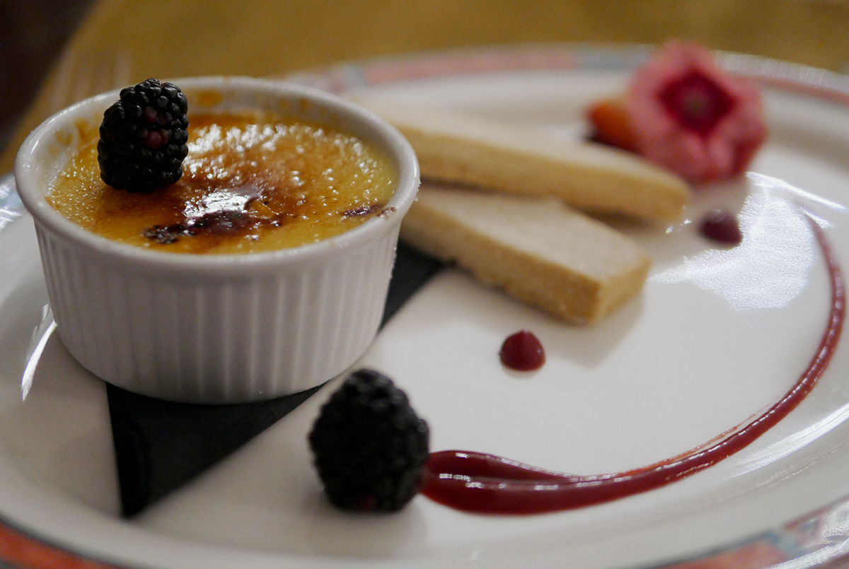 Creme Brulee Welcombe Hotel