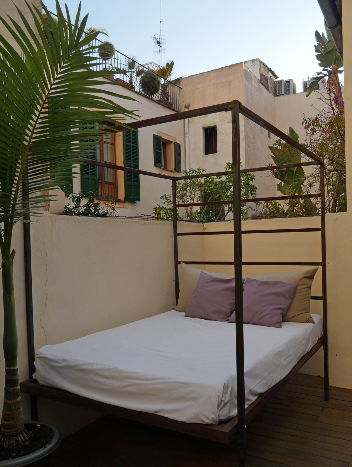 Daybed Hotel Architect Brondo Private Terrace