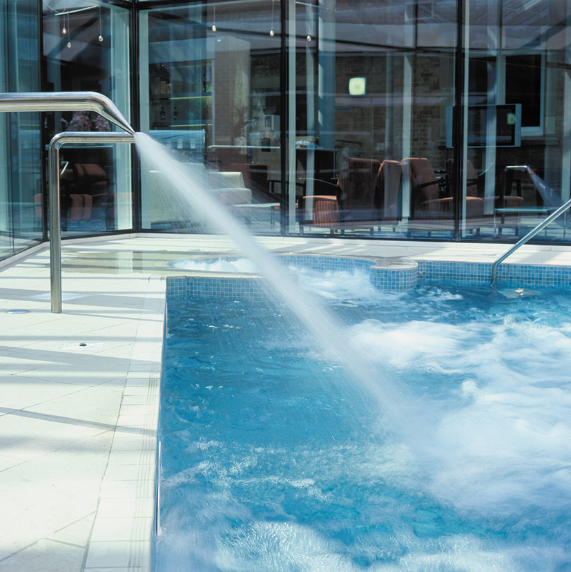 External Vitality Pool Welcombe Hotel Spa