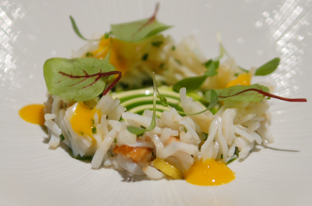 Fine Dining Boringdon Hall - Crab