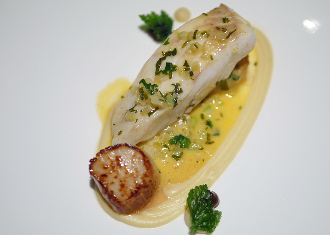 Fine Dining Boringdon Hall Fish