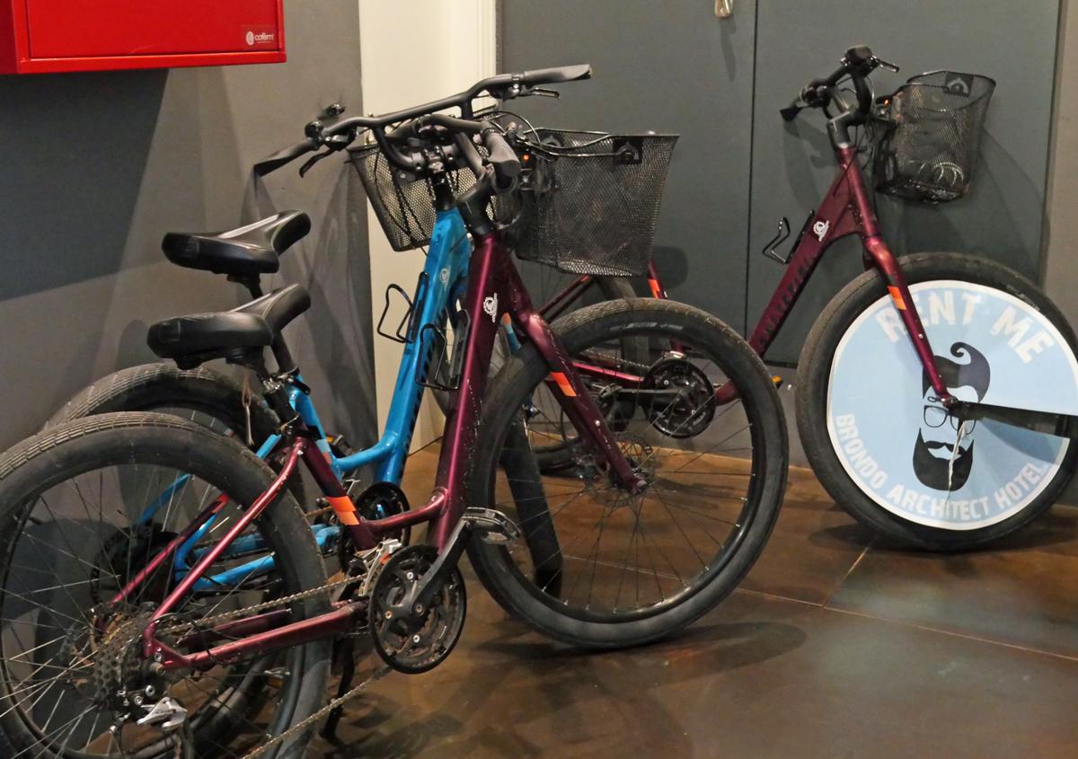 Hotel Architect Brondo - Bikes
