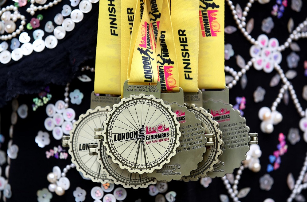 LLHM Finishers Medals