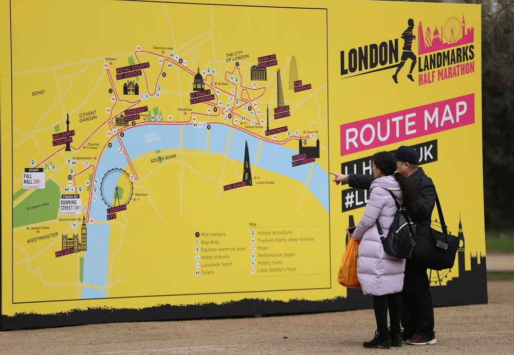 LLHM Route Map