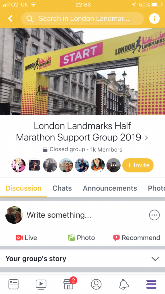 LLHM 2019 facebook support group