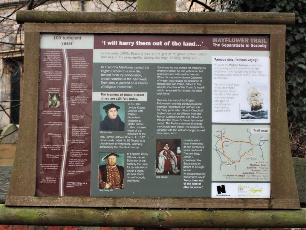 Pilgrim Trail, Scrooby