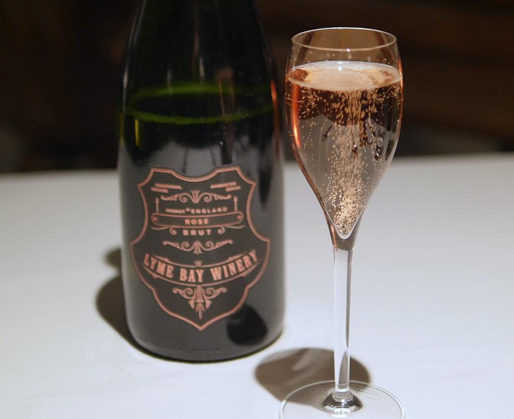 Sparkling wine pairing - Boringdon Hall Balcony Restaurant