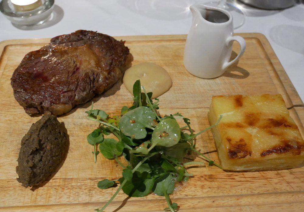 Stonefield Castle - ribeye steak