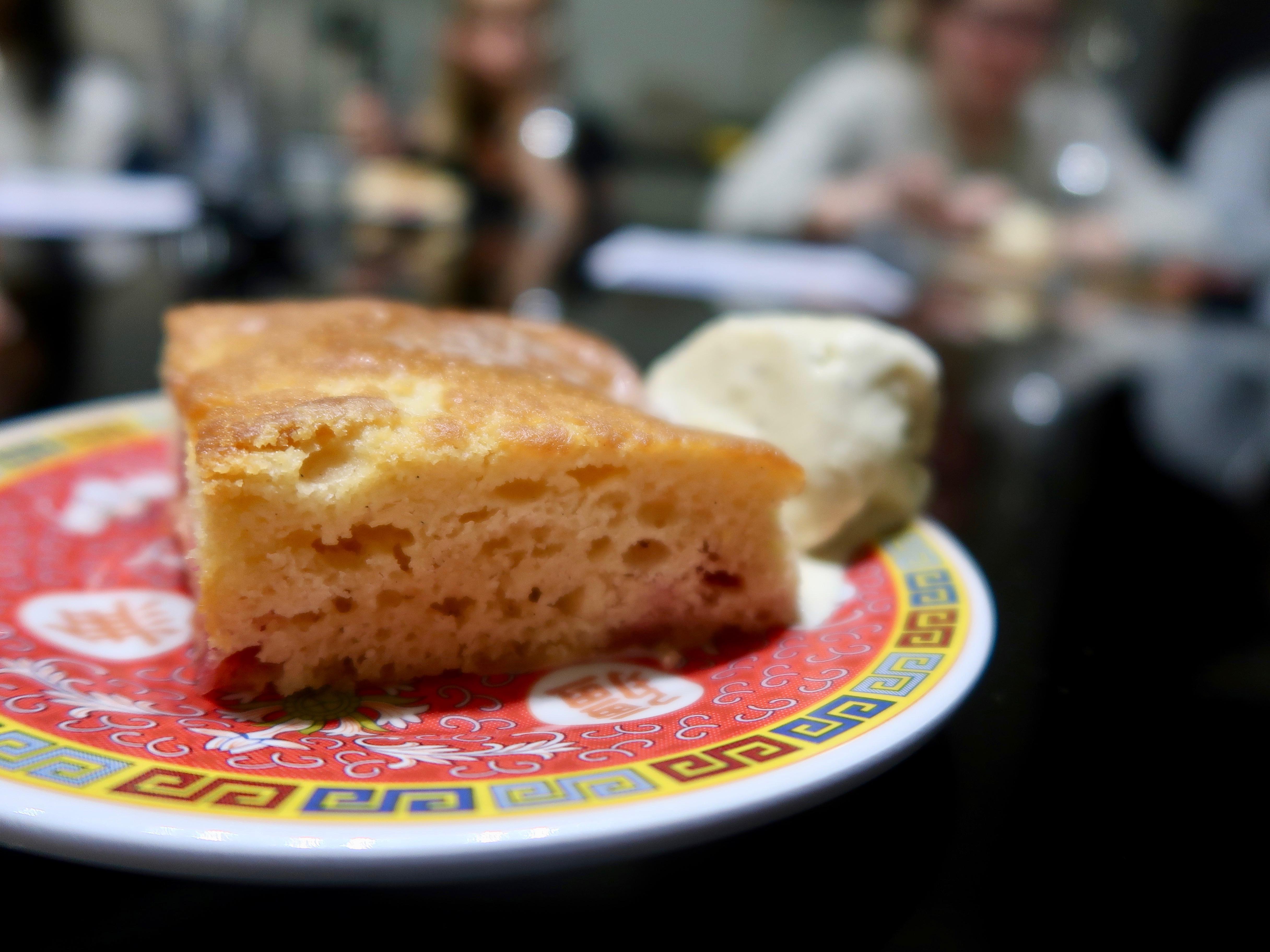 Wing Yip Plum cake
