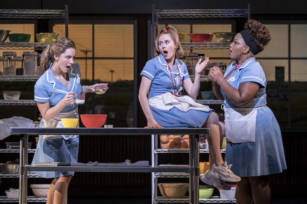 WAITRESS Adelphi Theatre - Broadway Musical comes to London West End