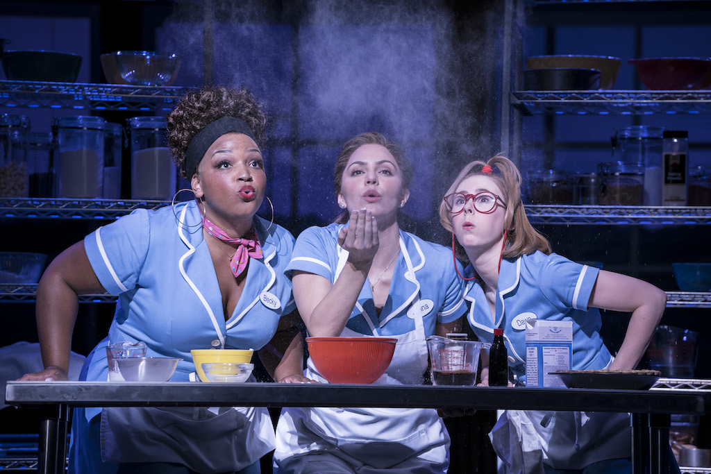 WAITRESS Adelphi Theatre- Broadway smash hit musical comes to London's West End