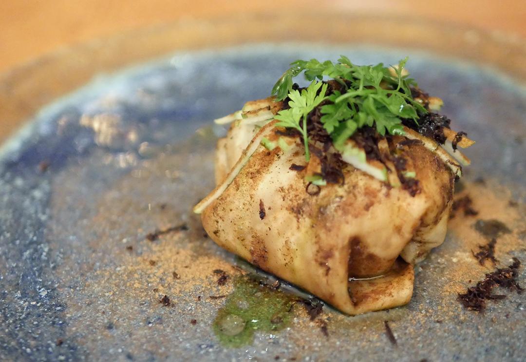 Adam Handling Hoxton - Celeriac with dates and truffles