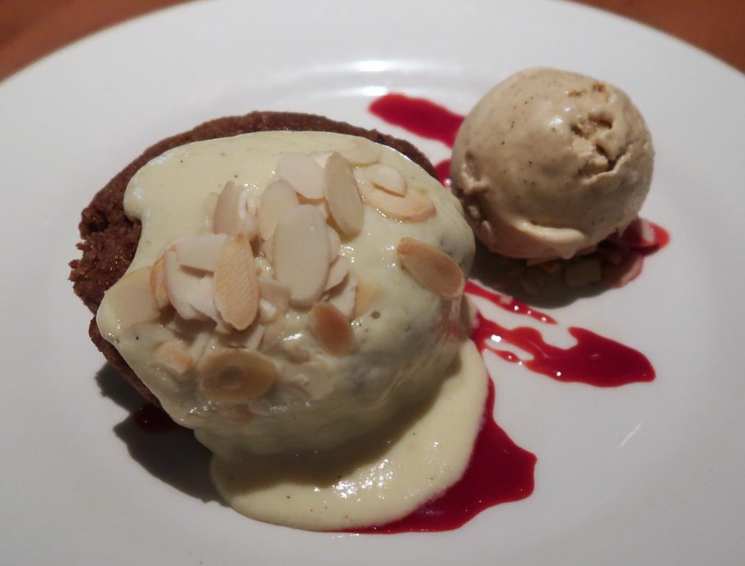 Bakewell Tart at London Street Brasserie