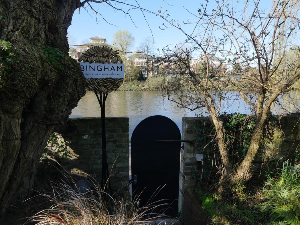 Bingham Riverhouse Garden Exit