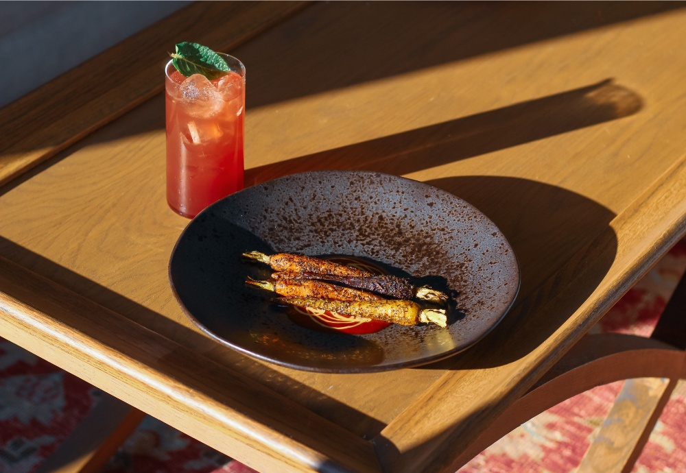 5 Stories with Porter's Gin Pop-up - Carrots