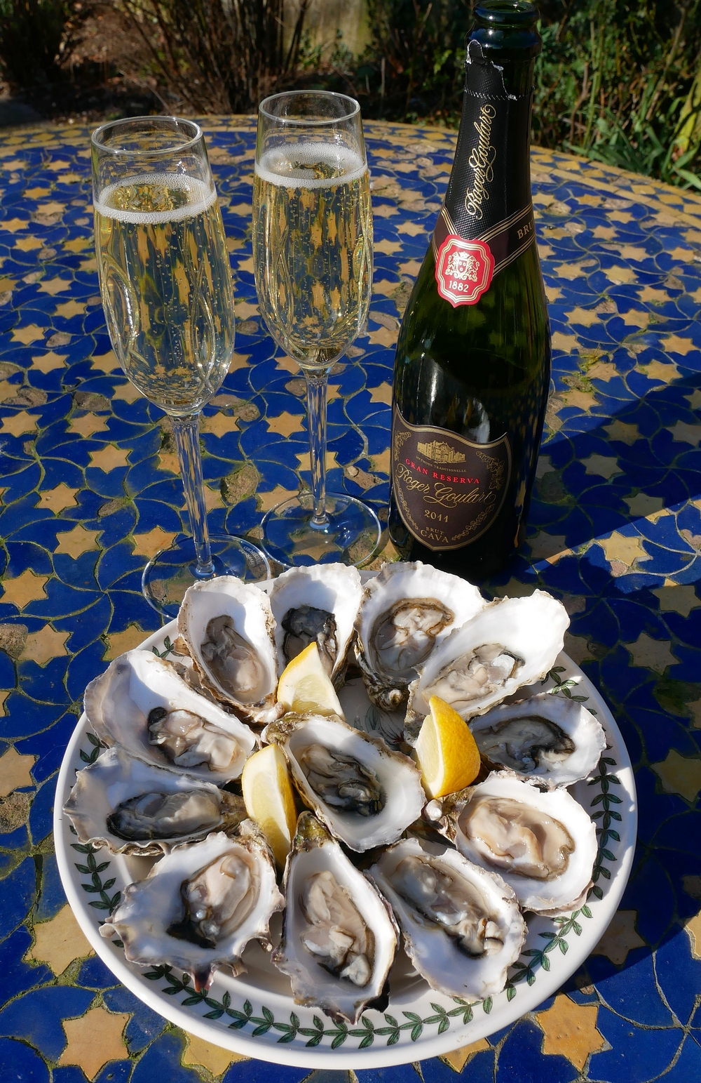 CVNE - Cava and Oysters