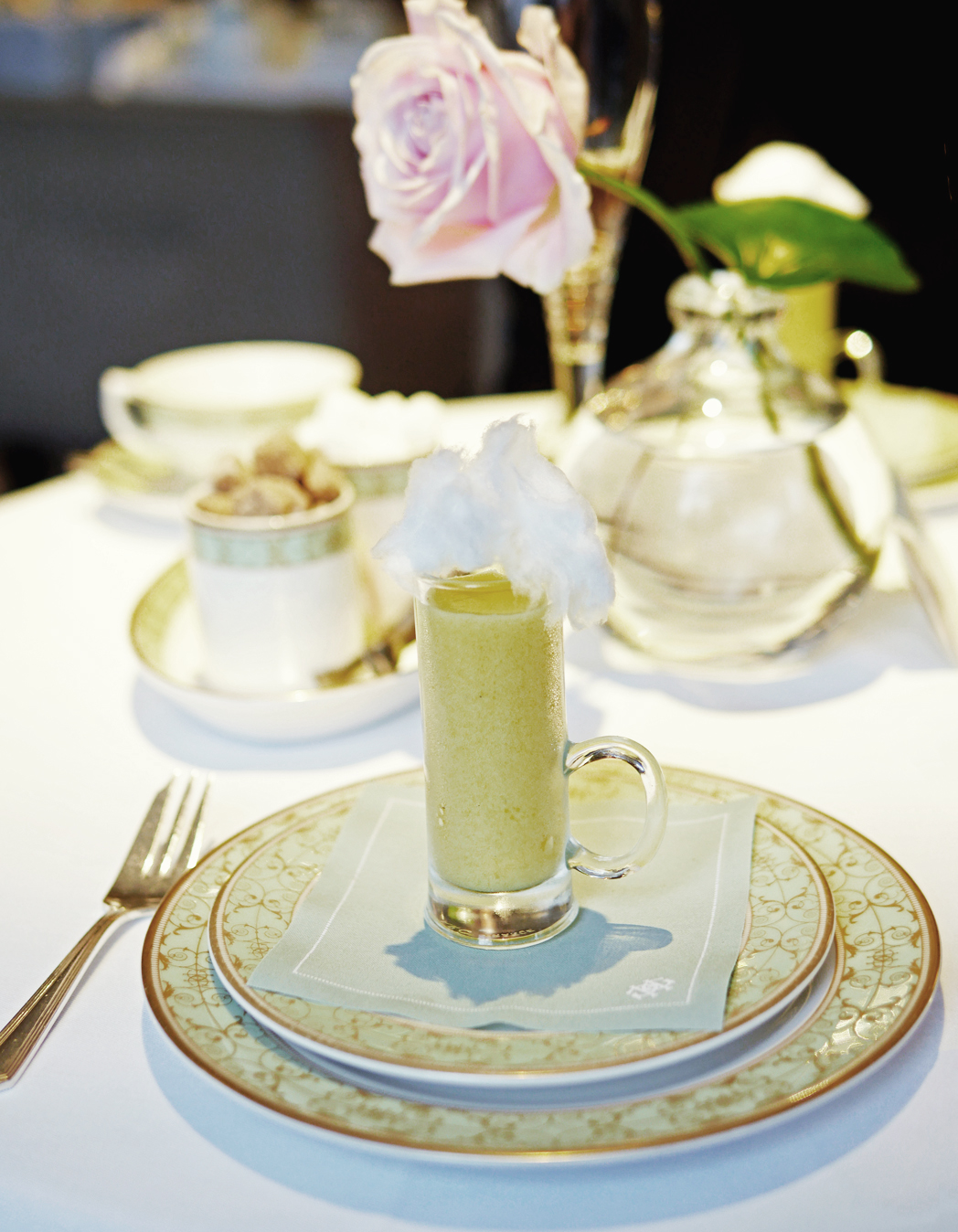 Grosvenor House Hotel - Afternoon Tea palate cleanser