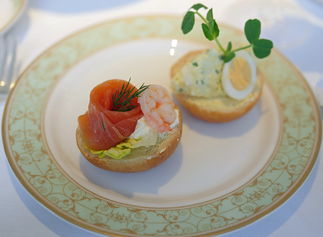 Grosvenor House Hotel Open Sandwiches