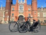 Bikes at Hampton Court Palace