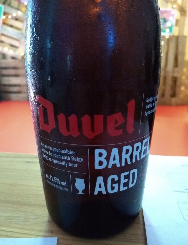 Duval Barrel Aged Belgian Beer