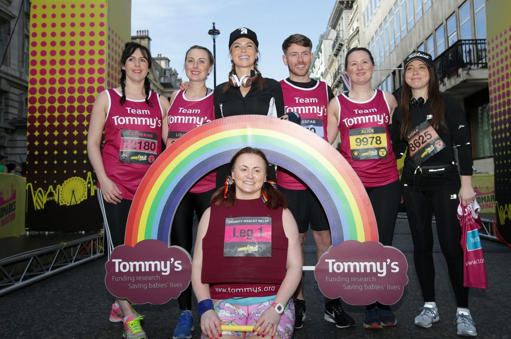 LLHM Amanda Holden and Team Tommy's
