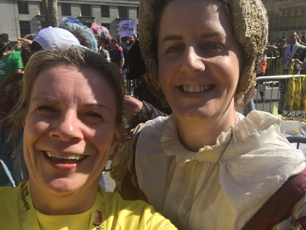 LLHM Selfie with Medal presenter