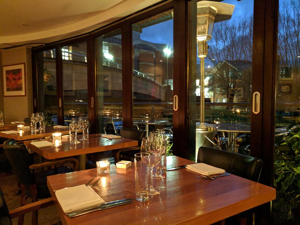 London Street Brasserie Interior