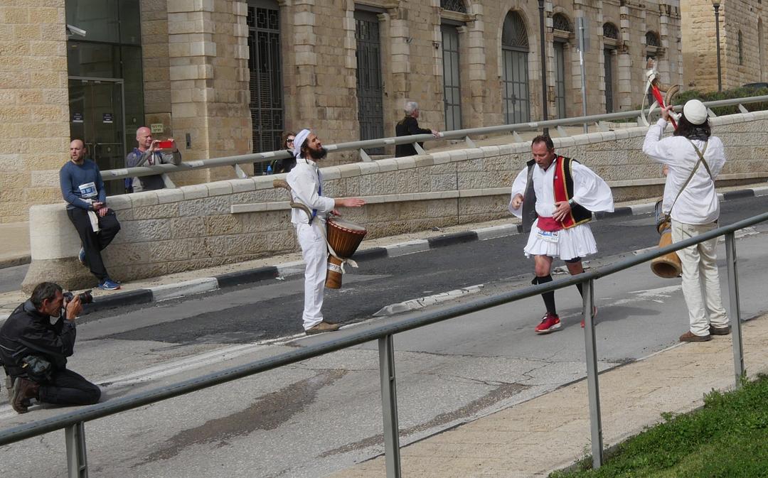 Musicians and Men - Jerusalem Marathon