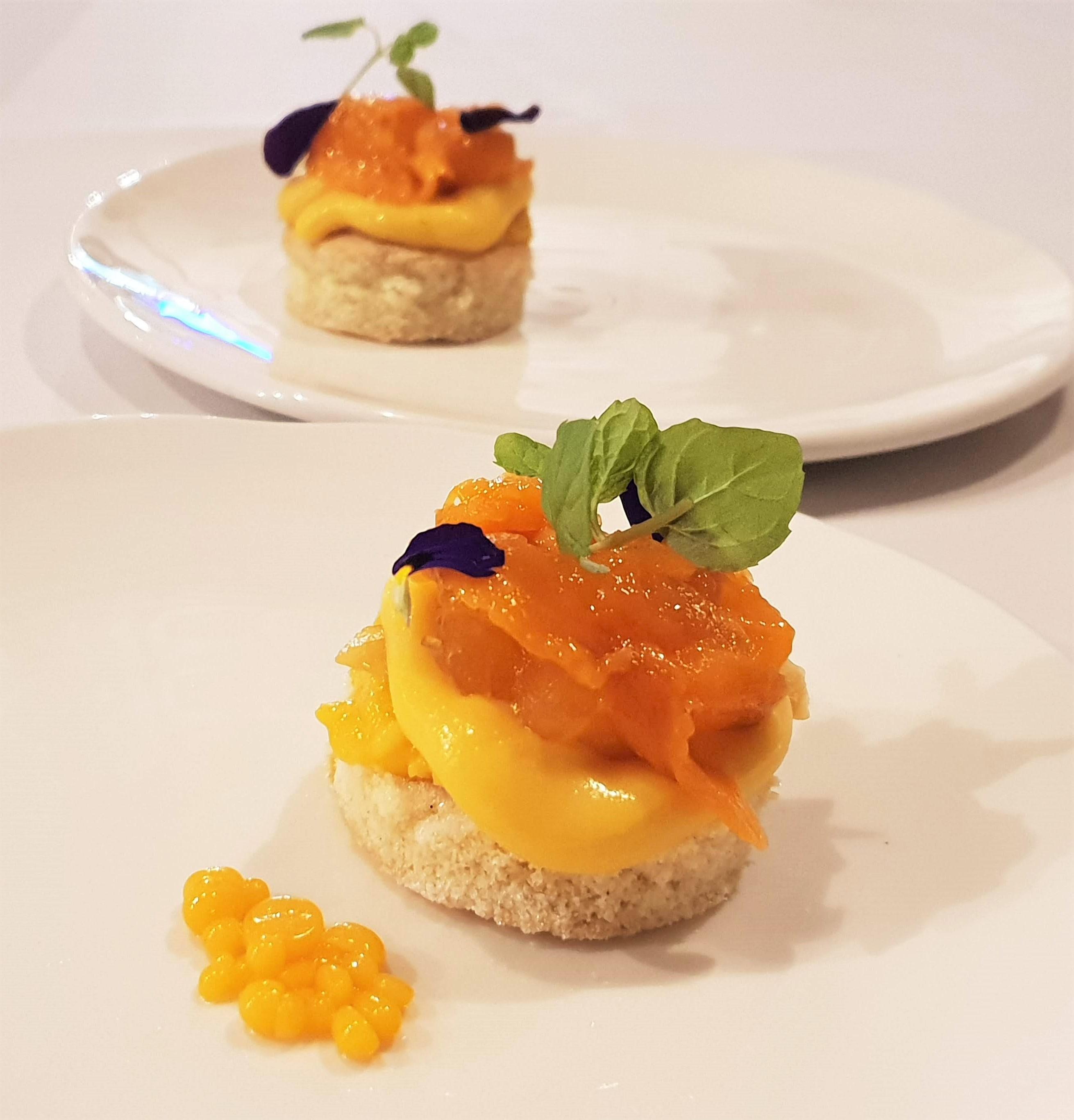 Myristica Mango dessert