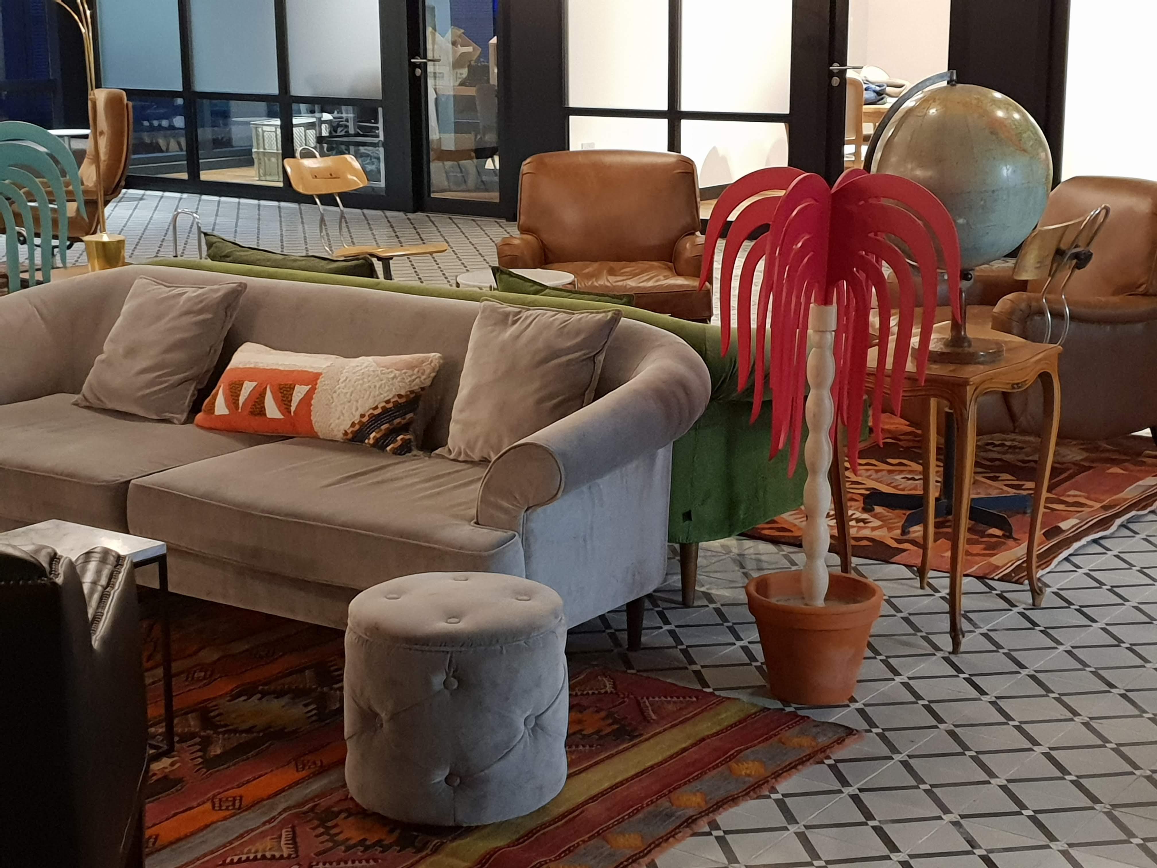Myristica, open plan office space