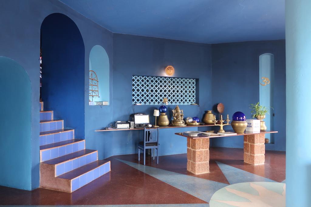 Nilaya Hermitage hotel reception