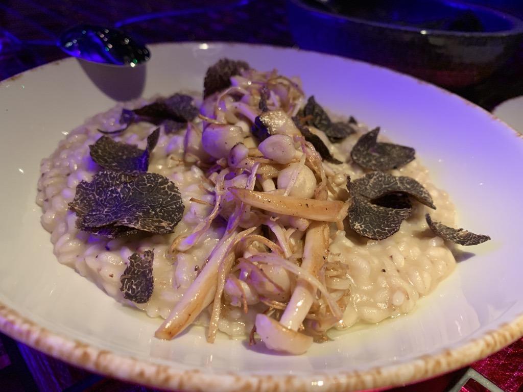 Opium truffle risotto