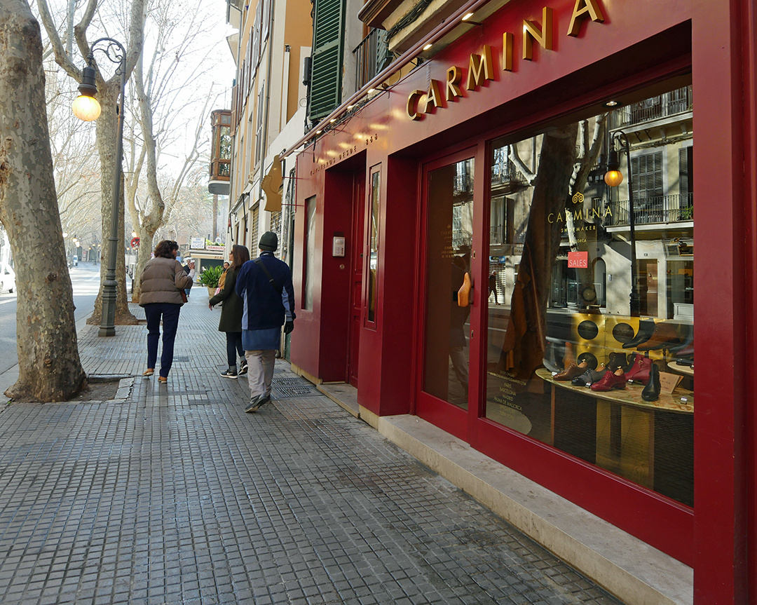Palma Emblematic Shops - Carmina Shoes