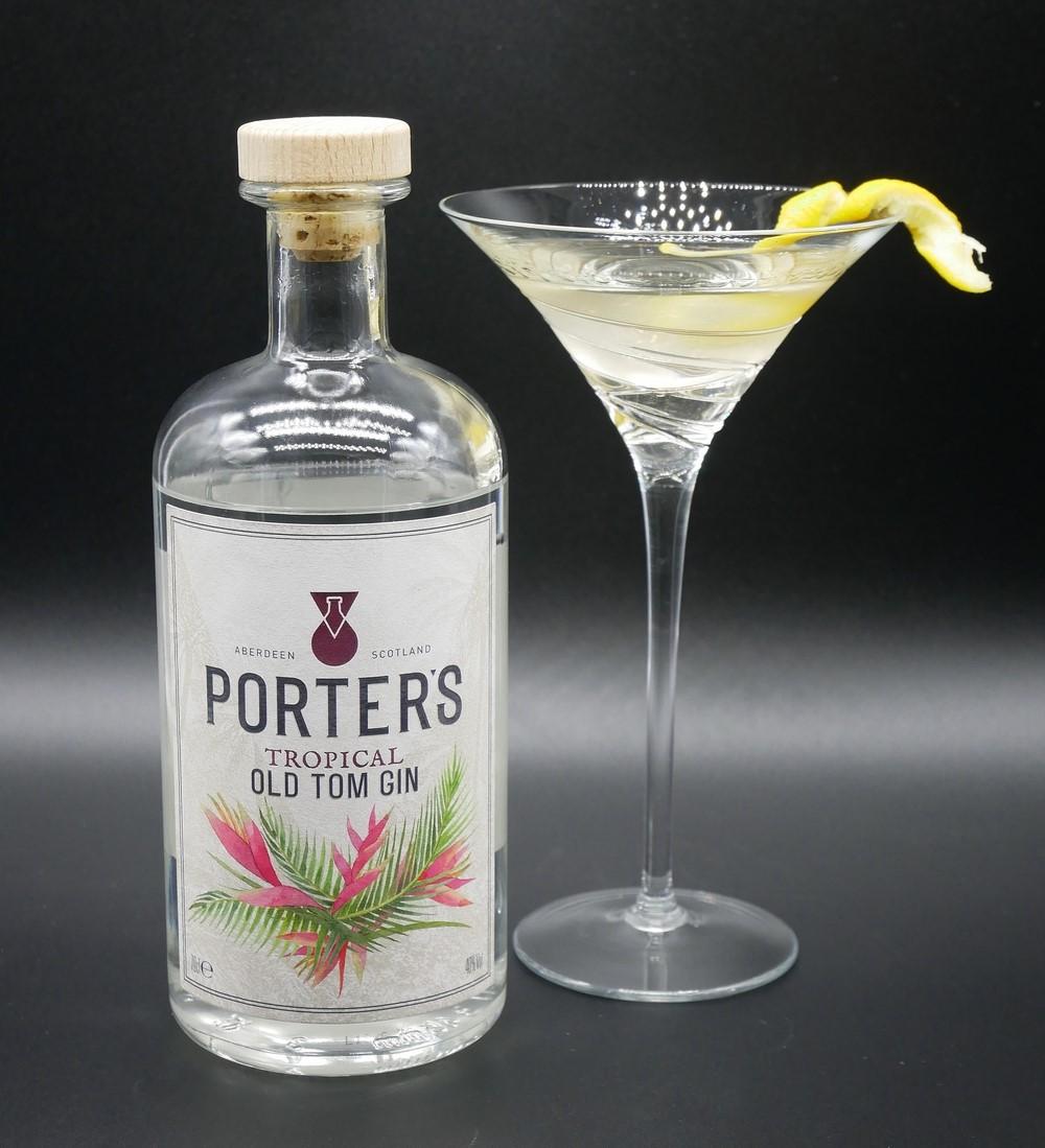Porter's - Tropical Martini