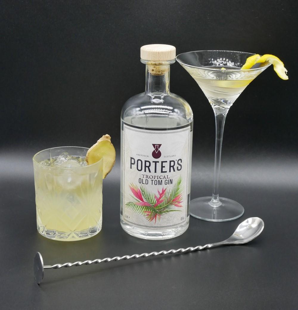 Porter's Old Tom Gin - Spring Cocktails