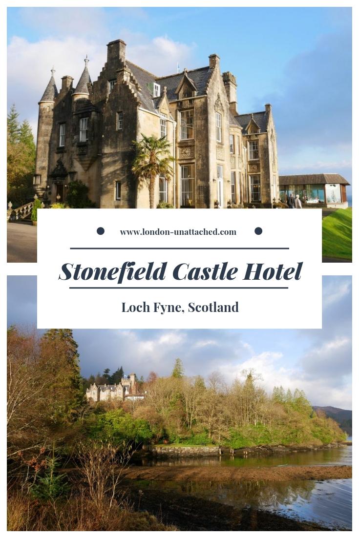 Stonefield Castle Hotel, Loch Fyne, Scotland