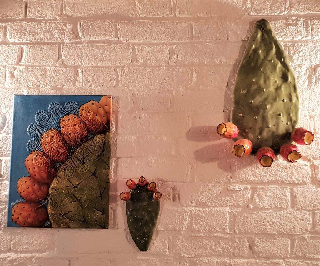 Terra Rossa cactus art