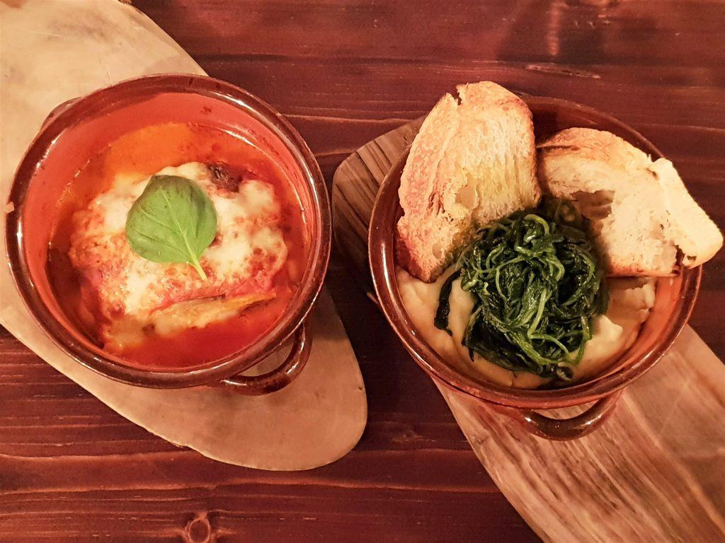 Terra Rossa restaurant Islington - starters