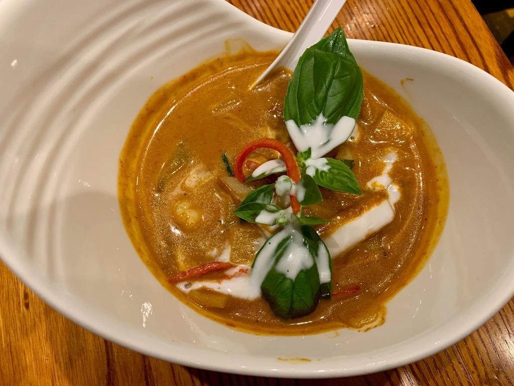 Thai Square prawn curry