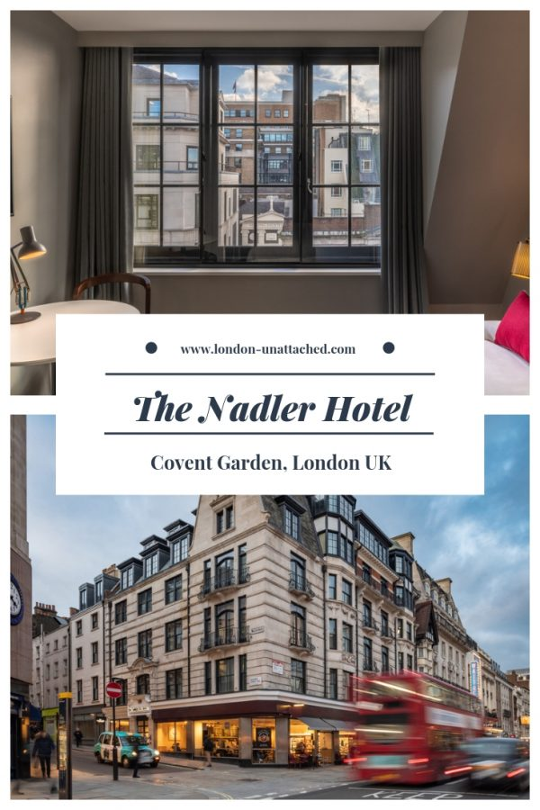 The Nadler Boutique Hotel Covent Garden