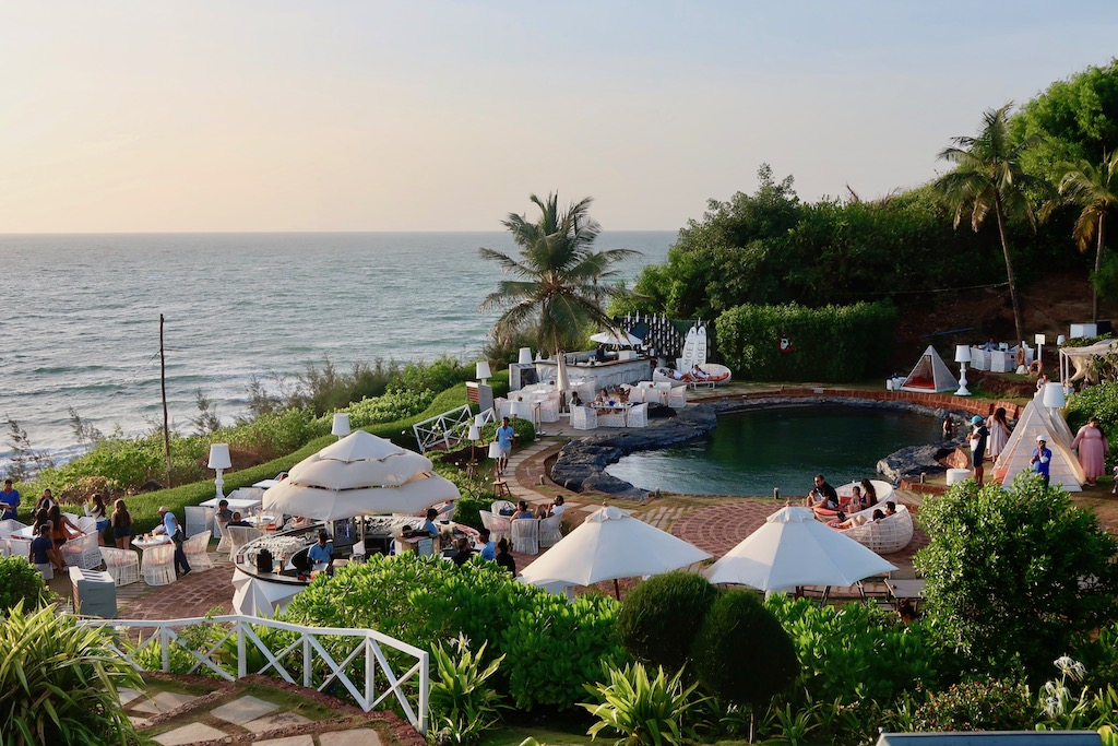 W Goa Rock Pool