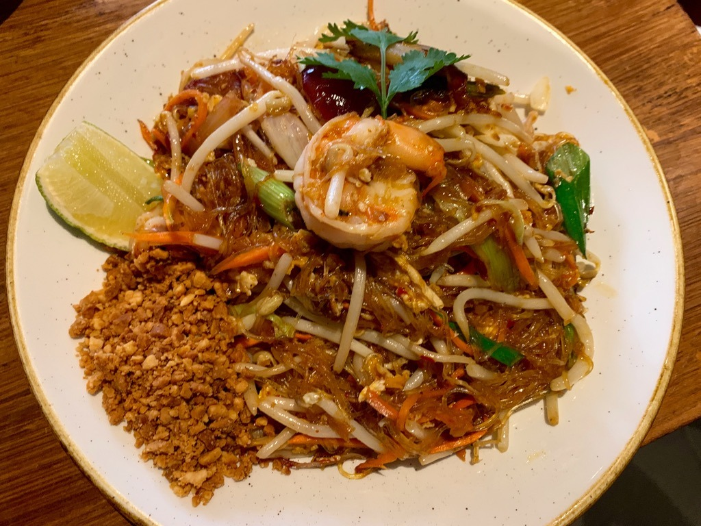 WILD RICE - Thai restaurant Soho PAD THAI USE