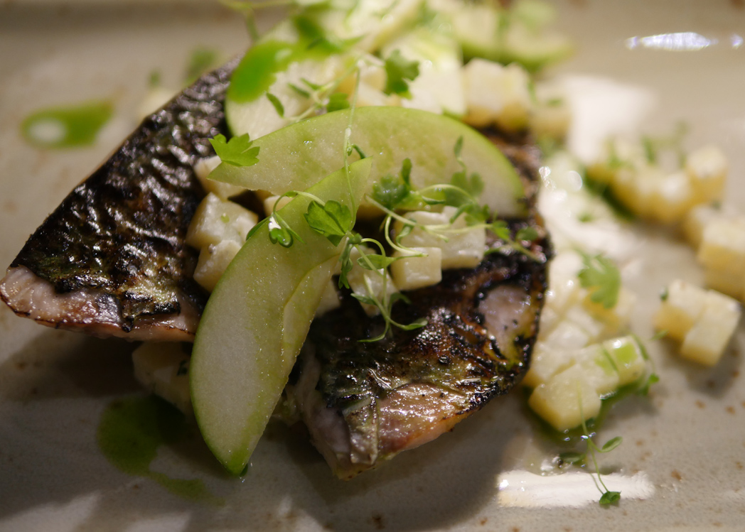 torched Mackerel - Bingham Riverhouse Restaurant