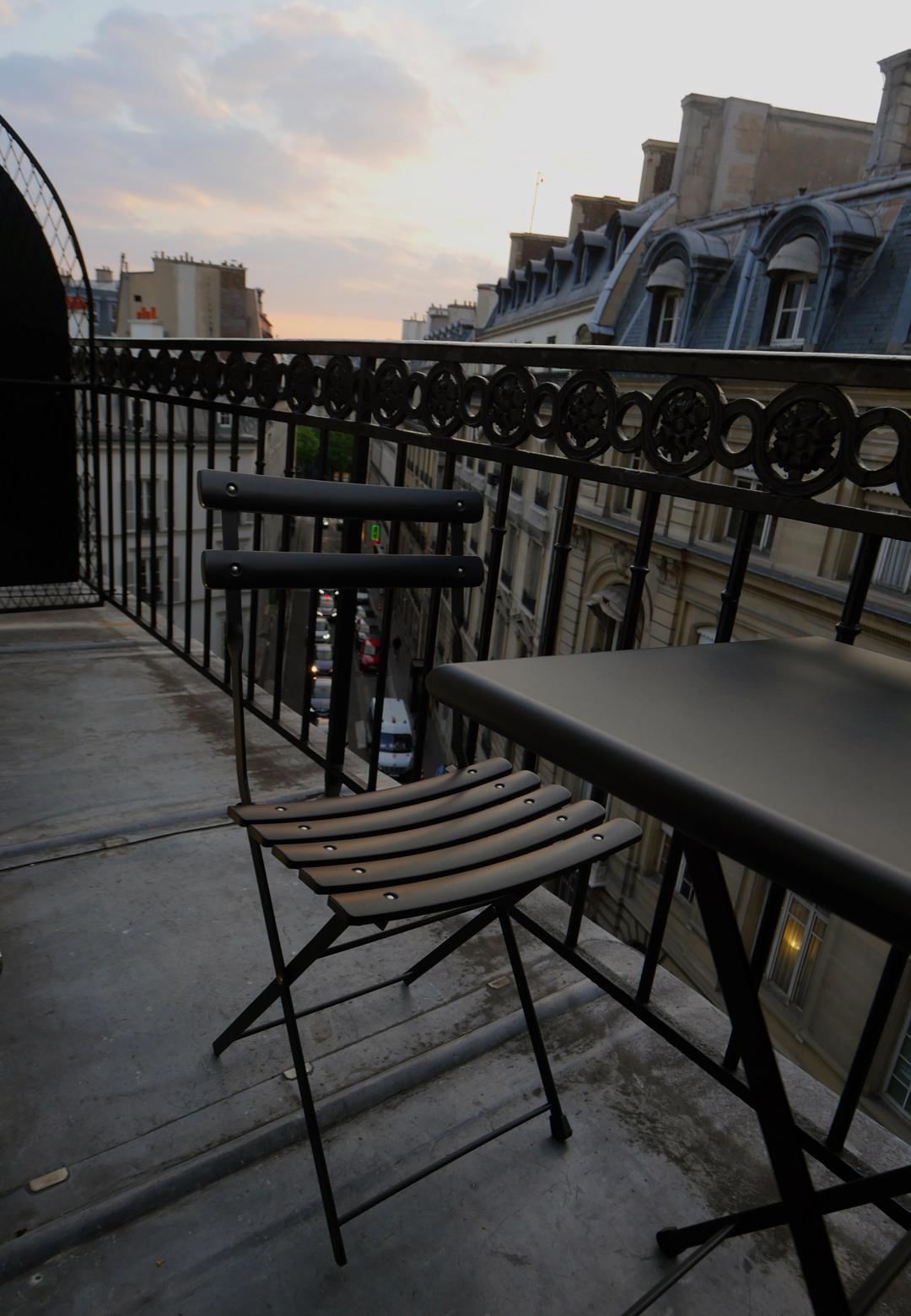 Balcony - Flaubert - Les Pavillon des Lettres