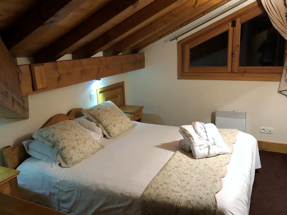 Bedroom Résidence & Spa Vallorcine Mont-Blanc Chamonix France