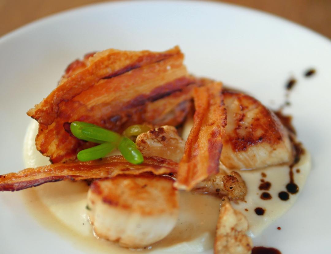 Bernardis Italian Restaurant Marylebone - Scallops