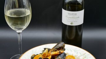 Thai Red Fish Curry with Dourthe Roqueblanche