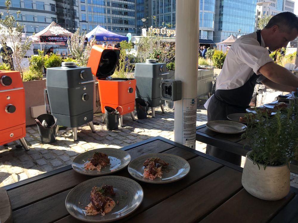Everdure 4K Launch Heston's Chefs at work