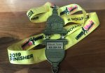 LLHM 2019 Finisher Medal with ITAB
