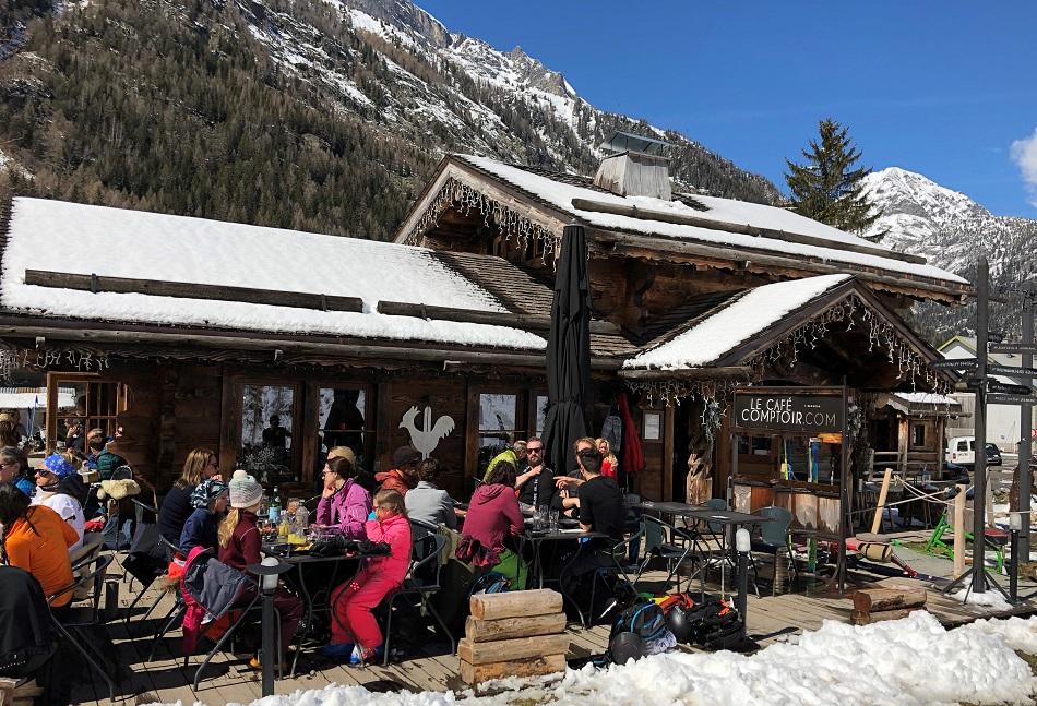 Le Café Comptoir Vallorcine Mont Blanc Franc